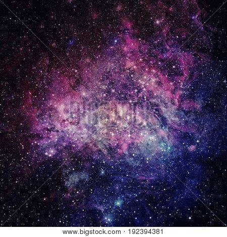 Beautiful Nebula, Stars And Galaxies.