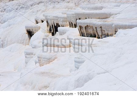 Pamukkale, natural site in Denizli Province in southwestern Turkey