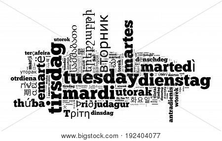 Word Tuesday In Different Languages