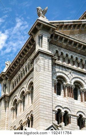 Edifice Of Saint Nicholas Cathedral In Monaco