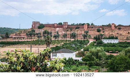 View Of Castle Of Silves From Country Side