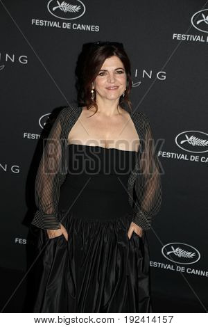Agnès Jaoui at the Women in Motion Awards Dinner  for at the 70th Festival de Cannes.May 21, 2017 Cannes, France