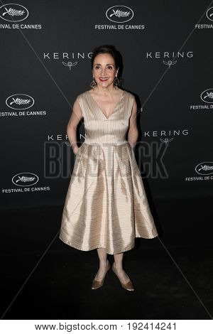 Dominique Blanc at the Women in Motion Awards Dinner  for at the 70th Festival de Cannes. May 21, 2017  Cannes, France