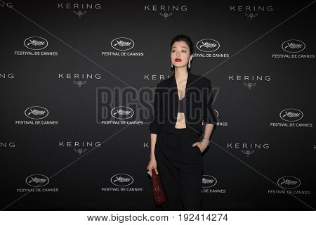 Kouka at the Women in Motion Awards Dinner  for at the 70th Festival de Cannes.May 21, 2017 Cannes, France