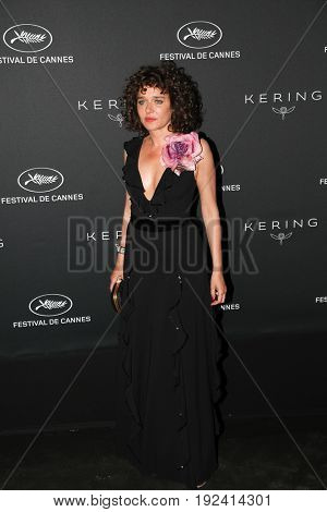 Valeria Golino at the Women in Motion Awards Dinner  for at the 70th Festival de Cannes.May 21, 2017 Cannes, France