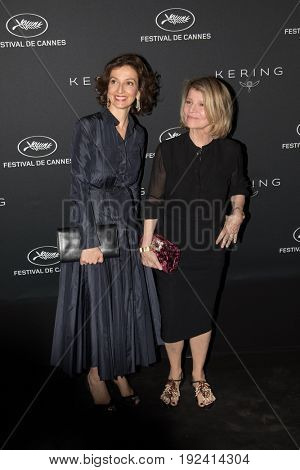 at the Women in Motion Awards Dinner  for at the 70th Festival de Cannes.May 21, 2017  Cannes, France