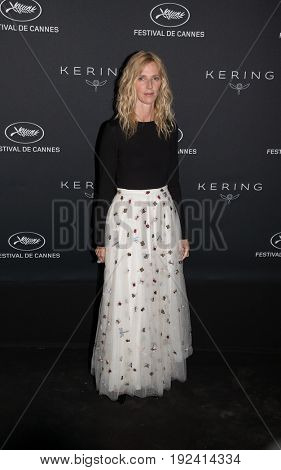 Sandrine Kiberlain at the Women in Motion Awards Dinner  for at the 70th Festival de Cannes.May 21, 2017 Cannes, France