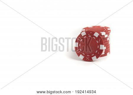 Red Gaming Chips
