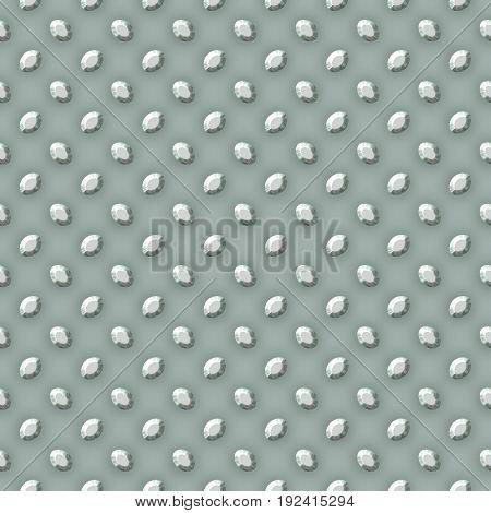 Metal modern silver grey seamless pattern wallpaper