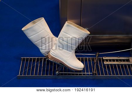 Footwear production - boots and rubber soles for farm