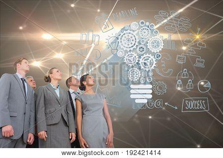 Digital composite of multiple_models_interface