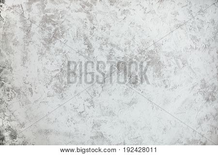 White textured background. Rustic designed wall with place for your text.