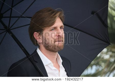 Ruben Ostlund attends the 'The Square' photocall during the 70th annual Cannes Film Festival at Palais des Festivals on May 20, 2017 in Cannes, France.
