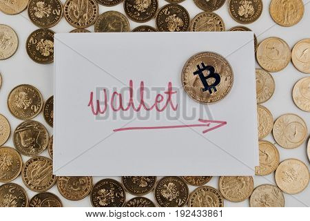 Gold Bitcoin Wallet
