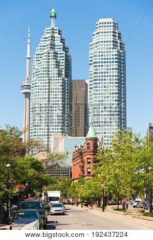 Toronto Canada - 2 July 2016: TD Canada Trust Tower Gooderham