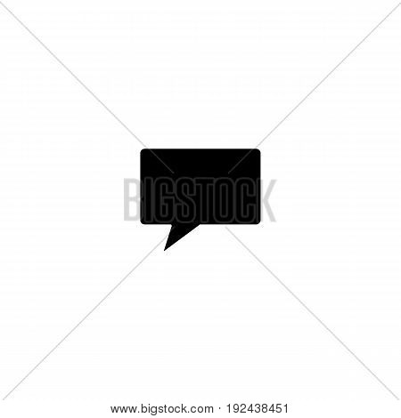 Call icon in simple style for web, infographics and creative design. Isolated vector illustration