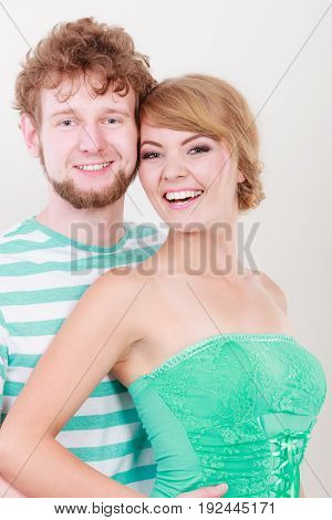 Cheerful Young Couple Portrait
