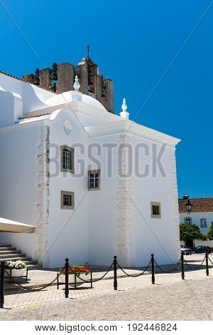 The Cathedral of Faro is a Roman Catholic cathedral in Faro Portugal