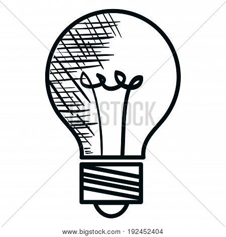 bulb light isolated icon vector illustration design