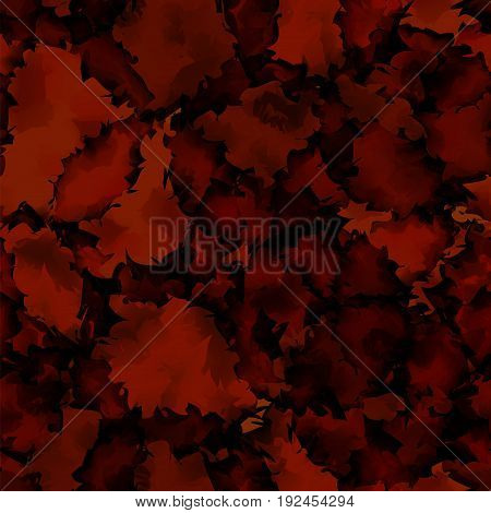 Dark Red Watercolor Texture Background. Dazzling Abstract Dark Red Watercolor Texture Pattern. Expre