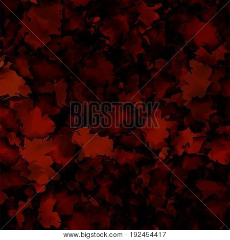 Dark Red Watercolor Texture Background. Terrific Abstract Dark Red Watercolor Texture Pattern. Expre