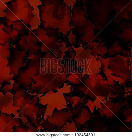 Dark Red Watercolor Texture Background. Uncommon Abstract Dark Red Watercolor Texture Pattern. Expre