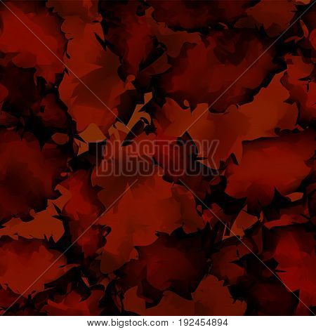 Dark Red Watercolor Texture Background. Rare Abstract Dark Red Watercolor Texture Pattern. Expressiv