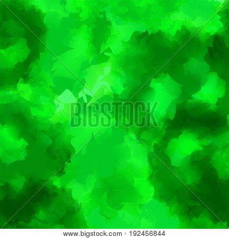 Green Watercolor Texture Background. Brilliant Abstract Green Watercolor Texture Pattern. Expressive