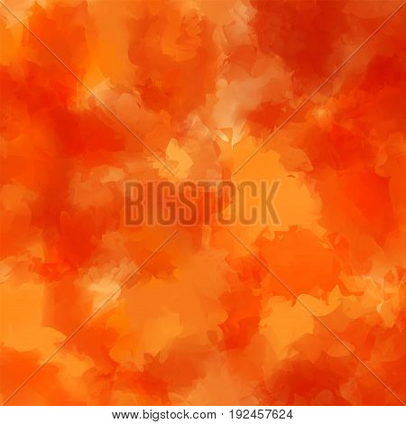 Orange Watercolor Texture Background. Elegant Abstract Orange Watercolor Texture Pattern. Expressive