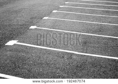 Parking lots Asphalt road place for cars outdoors