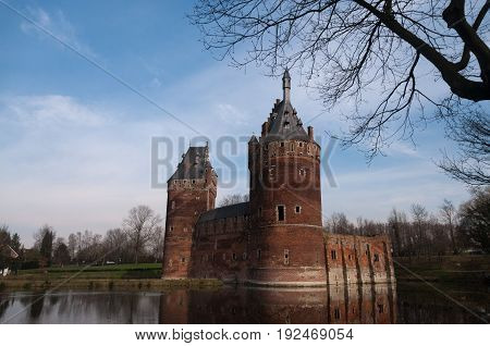Beersel castle is an old 12th century castle, located in the Belgian town of Beersel, just south of Brussels