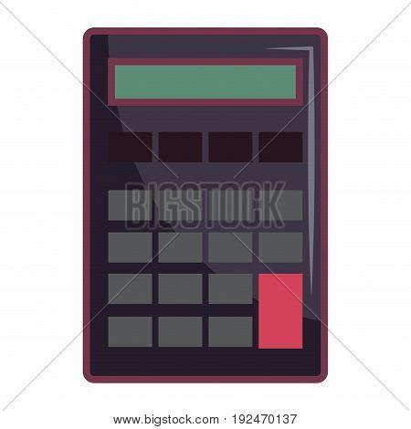Mathematical element calculator icon vector illustration design graphic