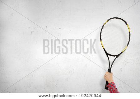 Big tennis game