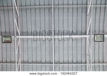 Heat insulation materials under a roof top