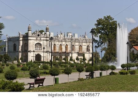 Dadiani palace is one of the most eminent palaces in Caucasus