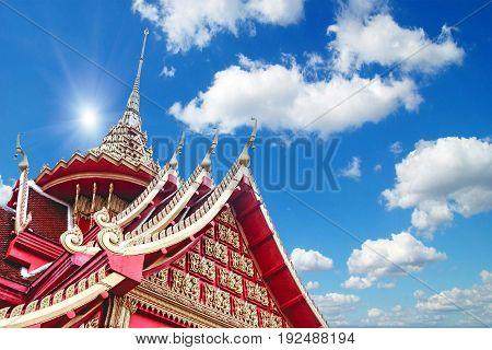 Wat Pha Tak Sue Temple , Nong Khai - Thailand