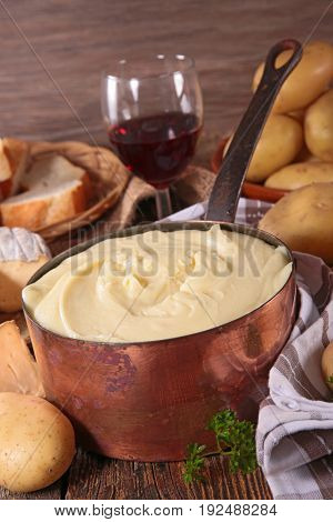 aligot,french food gastronomy