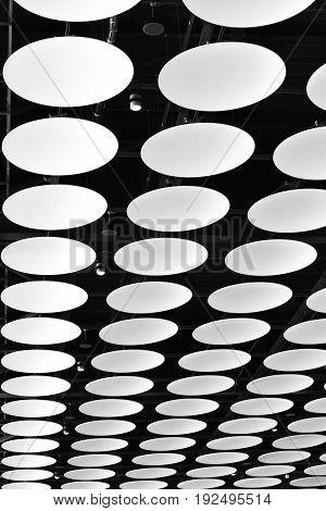 London, UK, June, 2017. The Ceiling of London Heathrow Airport, UK, June 14 2017.