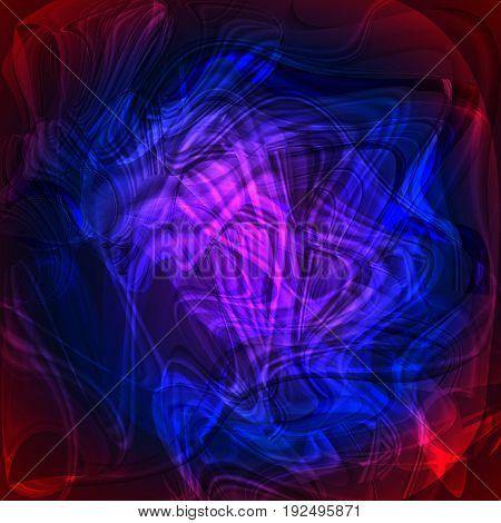 Twirl blue red luminous light background  for design