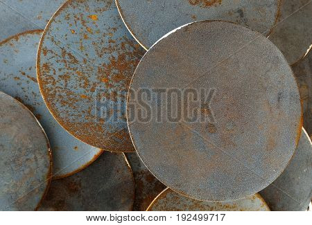 detail surface of old metal for background