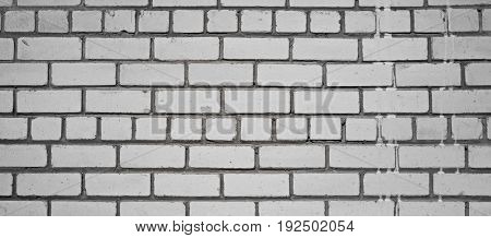 Lime brick. Masonry made of sand-lime bricks. Universal background for building advertising.