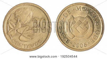 Mozambique Coin Centavos