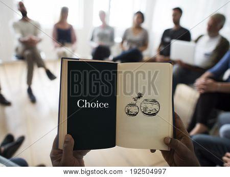 Challenge Decision Option Chance Choice Concept