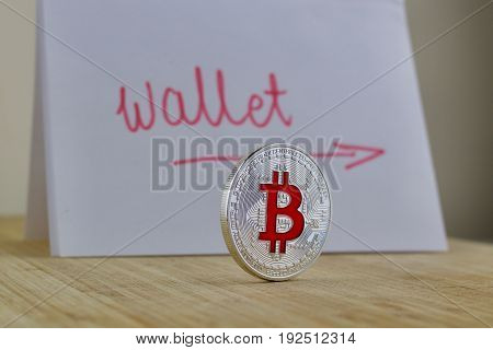 Red Bitcoin Wallet