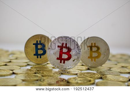 Red Bitcoin Money