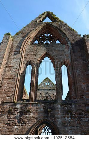 Sweetheart Abbey Abbey of Dulce Cor, New Abbey, Dumfries & Galloway