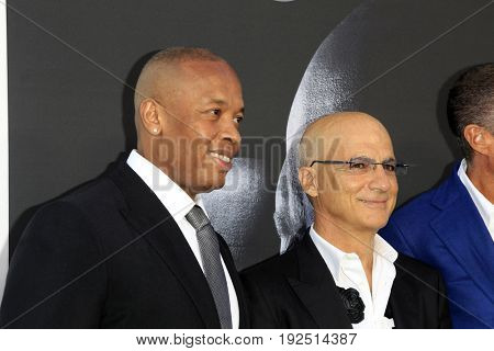 LOS ANGELES - JUN 22:  Dr Dre, Jimmy Iovine at