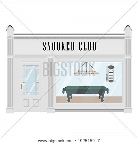 Snooker Club Vector