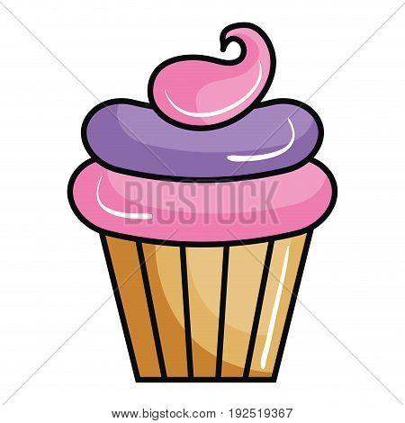Sweet cream children icon vector illustration design graphic