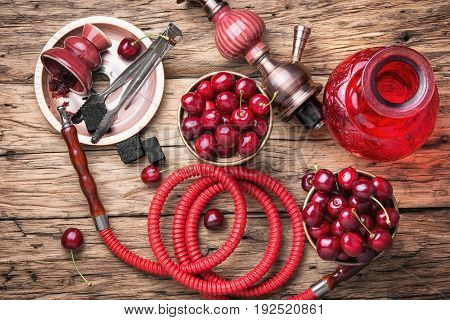 Shisha Hookah With Cherry